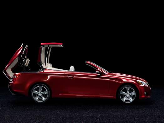 Is The New Lexus Is 350 Convertible The Fastest Topless Car In The