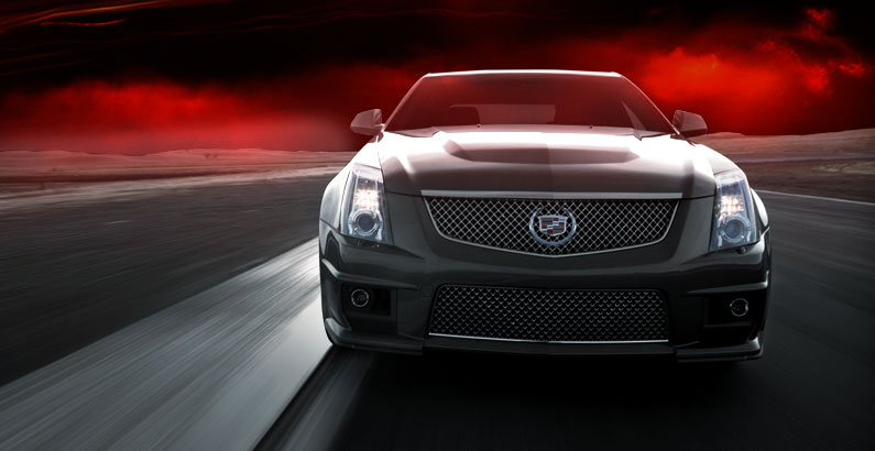 Review 2009 Cadillac CTS-V: 0-60 in 3 9 sec  certainly not