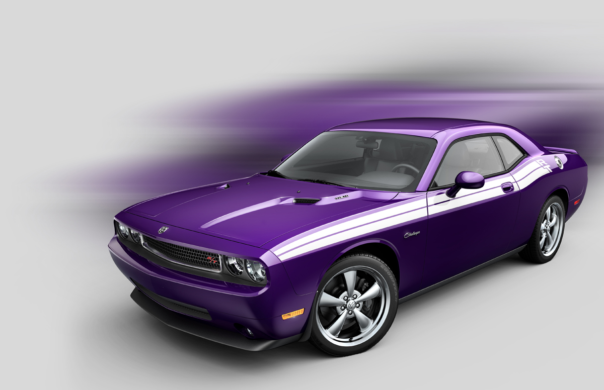 Dodge Brings Back The Good Old Blast From The Past Color To 2010