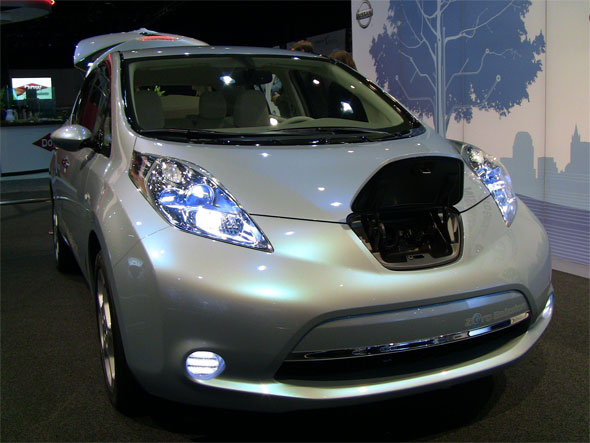 Video Will You Be Driving The Production Ready All Electric Nissan