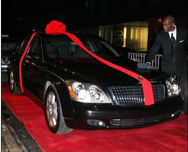 Rapper P. Diddy buys his son a $360,000 Maybach for his 16th ...