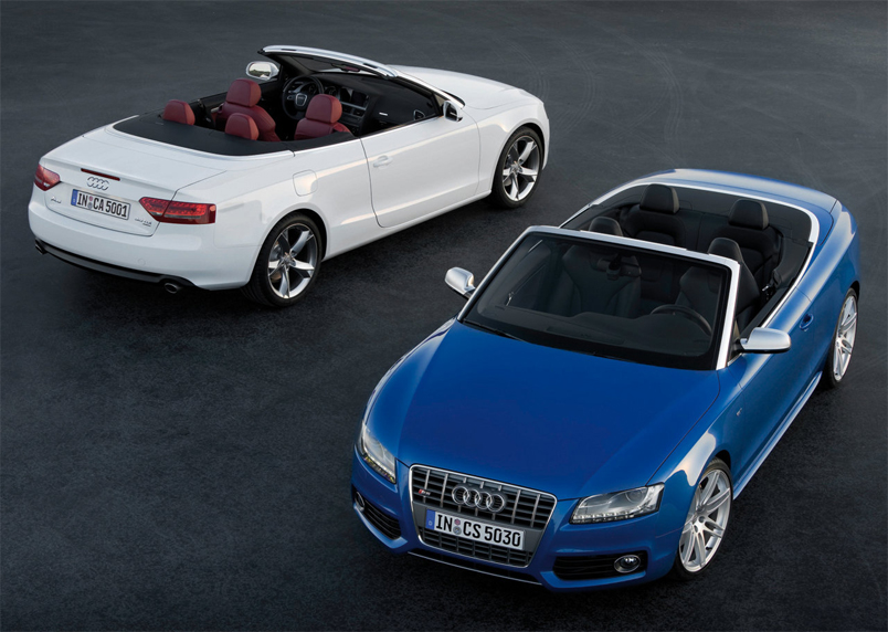 Review 2010 Audi A5 convertible: it's a great ride, top up or down