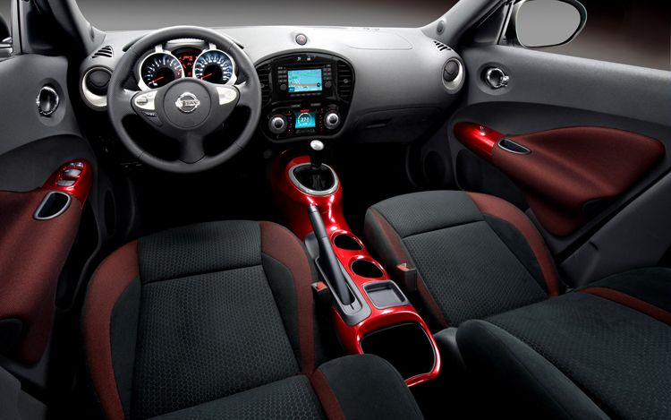 2011 Nissan Juke Interior View