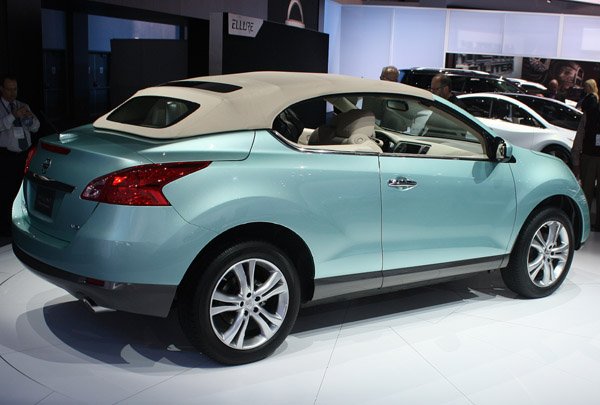 convertible suv nissan contact murano awd in crosscabriolet veh base