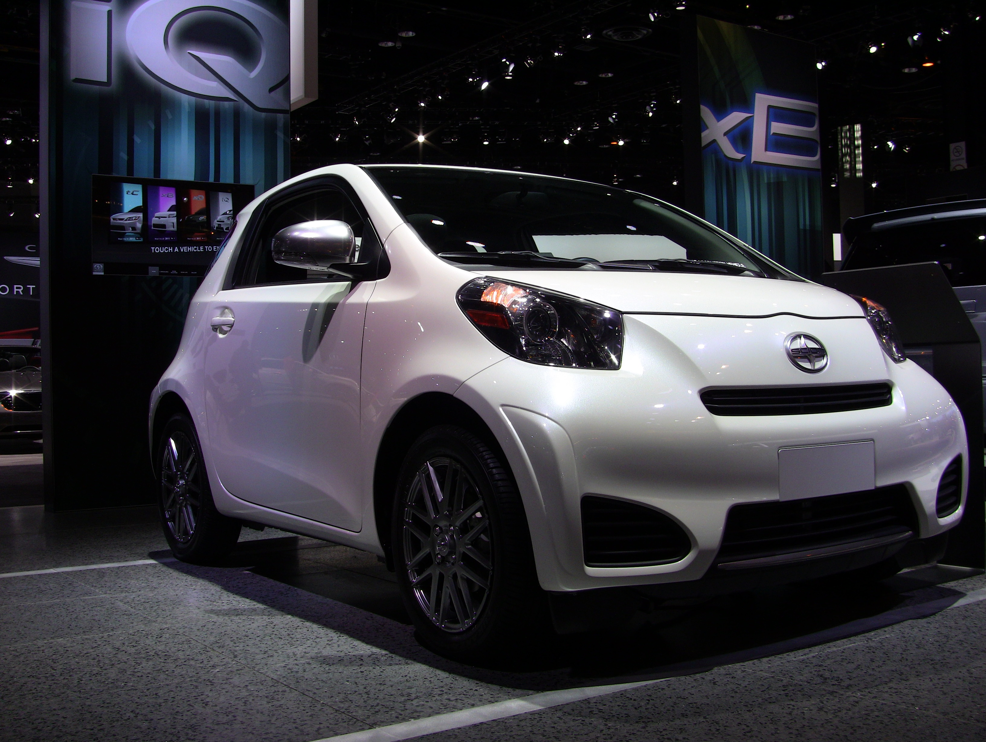 Imagine A Funky Chunky White Guy Snuggled In Tiny Scion Iq Just As Pleased Punch He Smiles At You