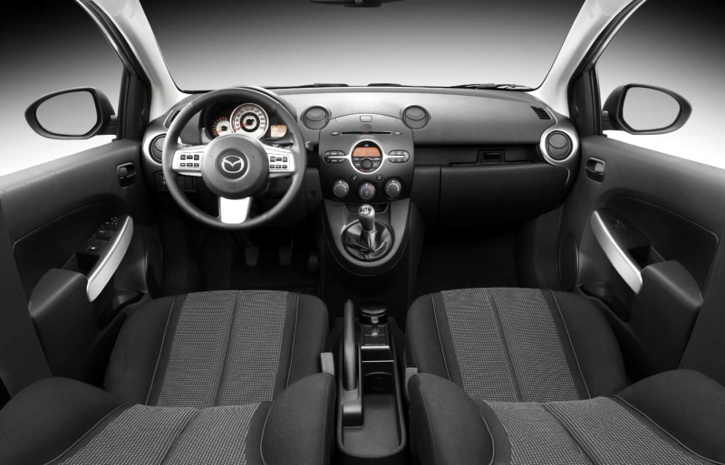 Fat guy in a little car: Nathan reviews the 2011 Mazda 2 ...