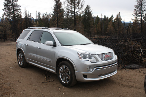 2011 Gmc Acadia Denali Is A Brilliant Package The Fast Lane Car