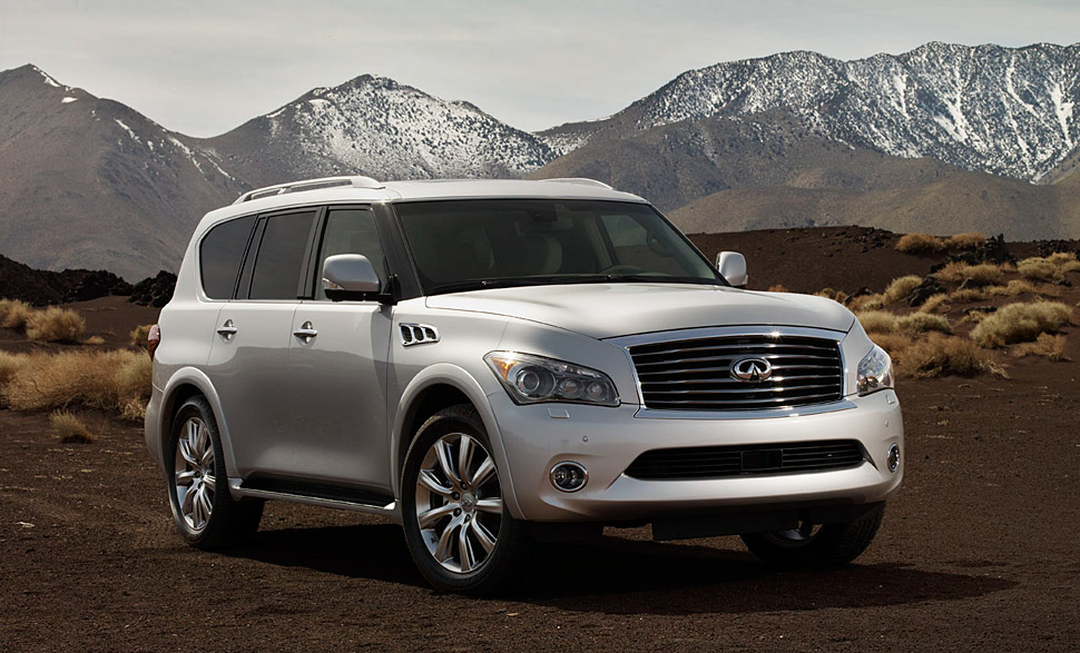 Review 2011 Infiniti Qx56 Not Very Pretty But Grabs Peoples
