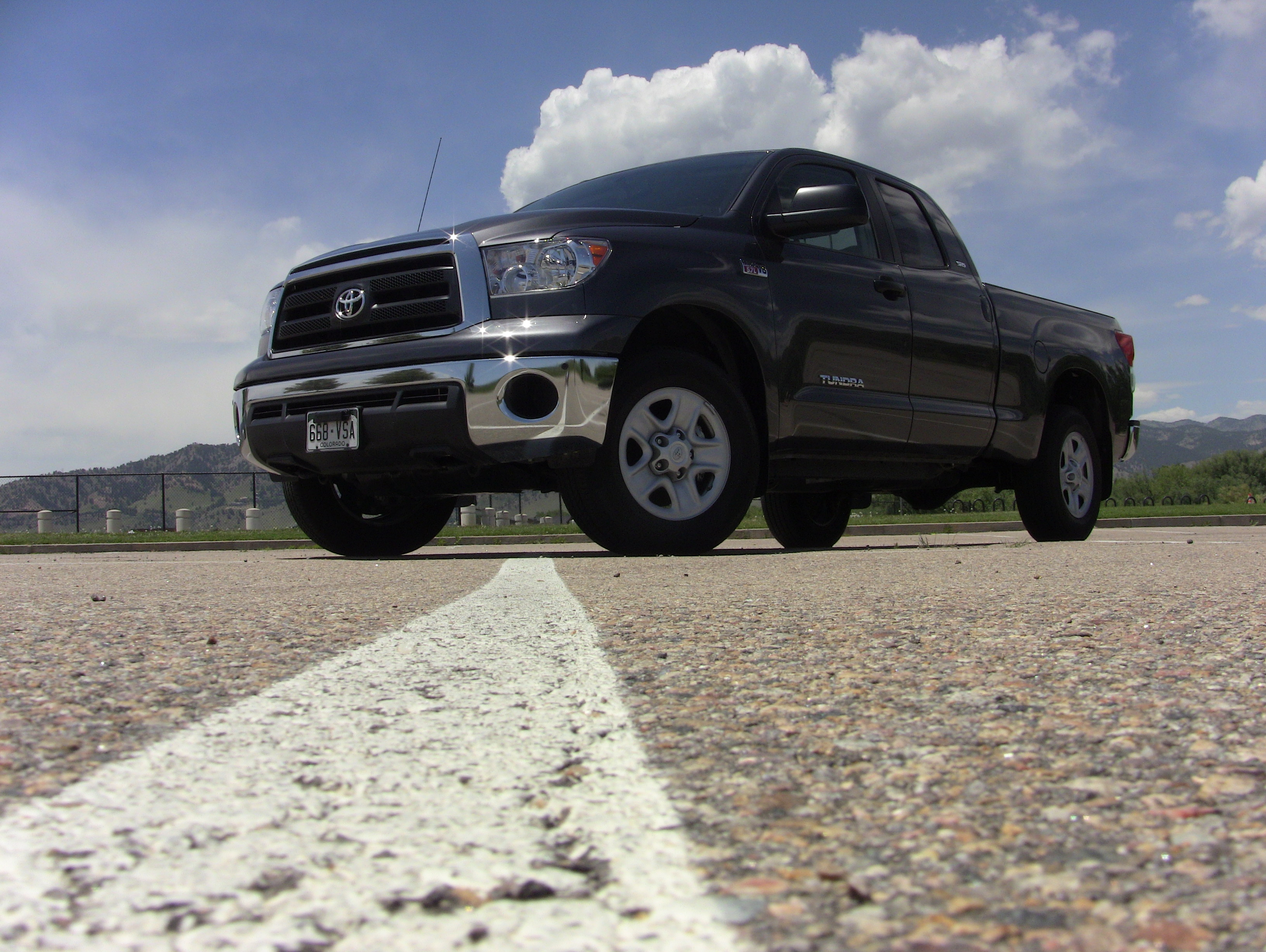 The 2011 Toyota Tundra Is A Full Sized Pick Up Battling It Out In The  Market Place With The Best Selling Ford F 150, The Popular Dodge Ram And  All American ...