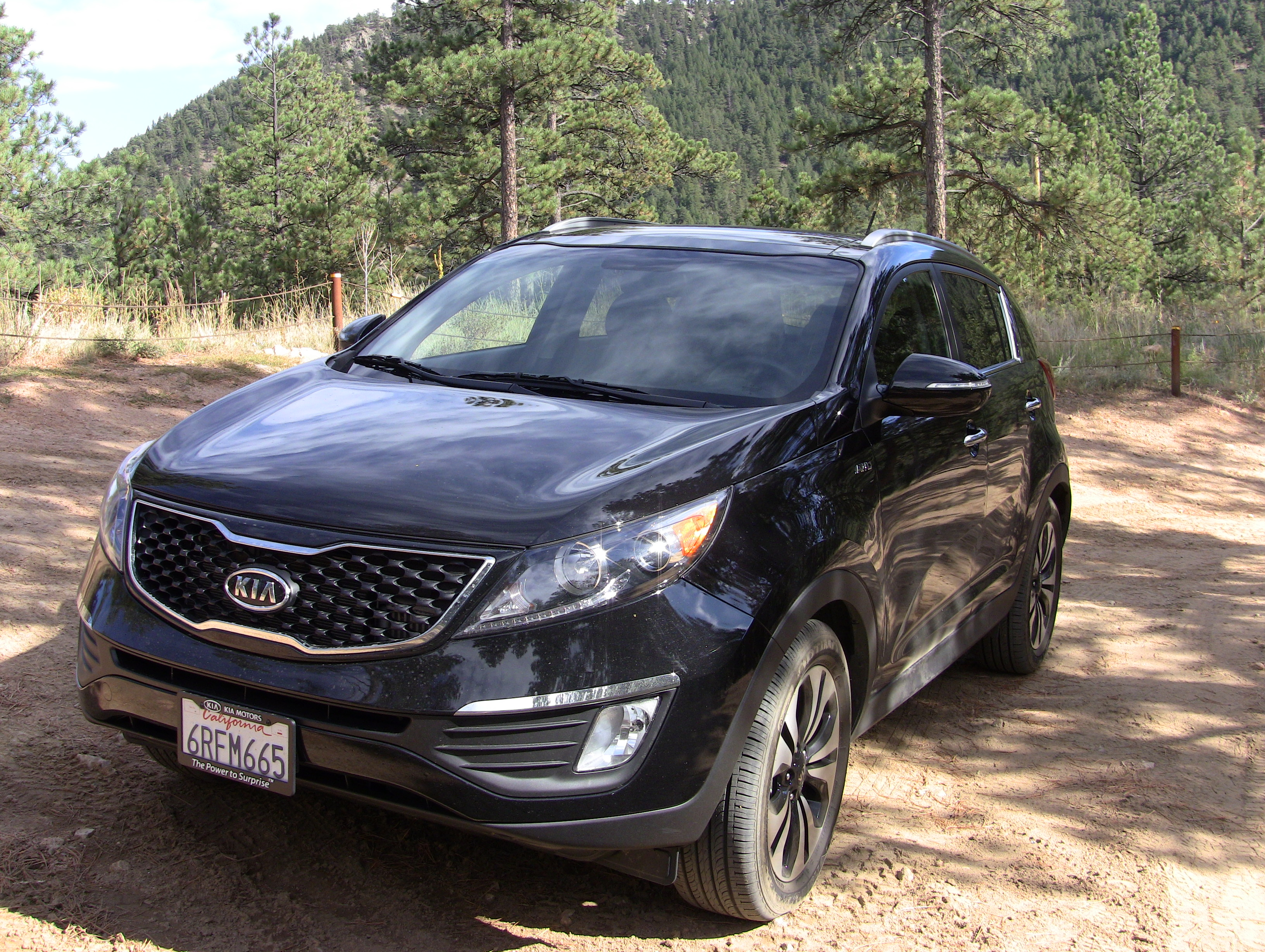 The 2011 KIA Sportage Turbo Is A Small Crossover That With A  All Wheel Drive And A 260 Horsepower Turbo.