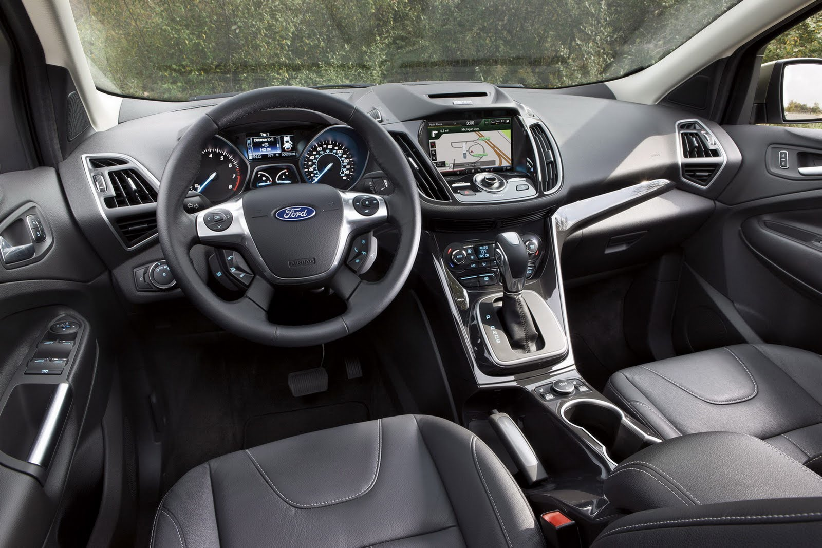 Once again ford makes me eat my words i reviewed the 2005 escape years ago and thought the interior was painfully meek i never thought ford would