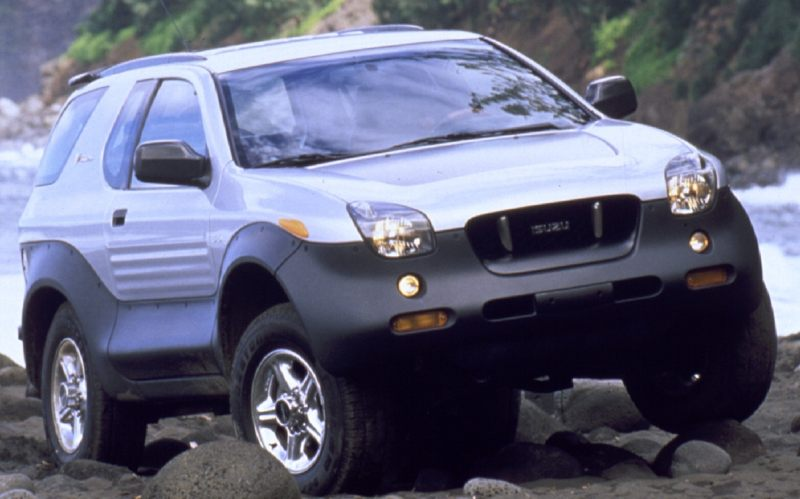 Modern collectibles revealed 19992001 Isuzu VehiCROSS  The Fast