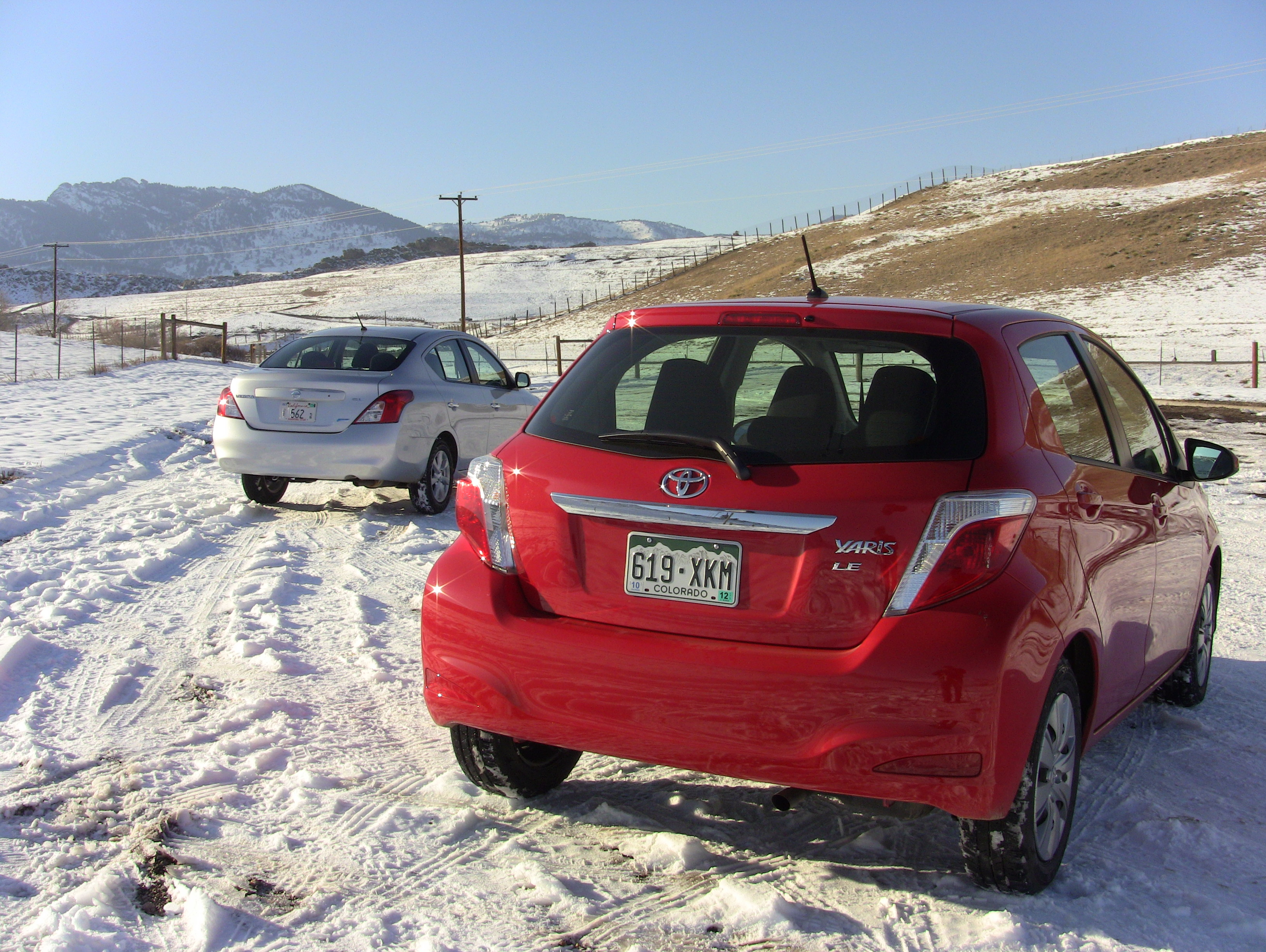 For 2012 The Nissan Versa And Toyota Yaris Are Both Newly Redesigned.