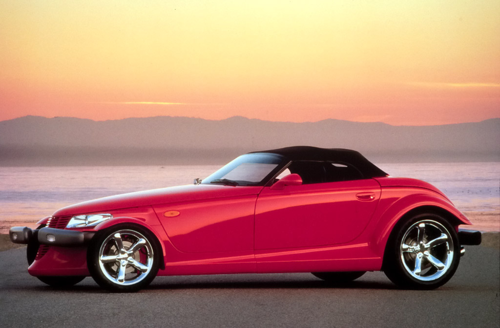 1999 Plymouth Prowler Red Water