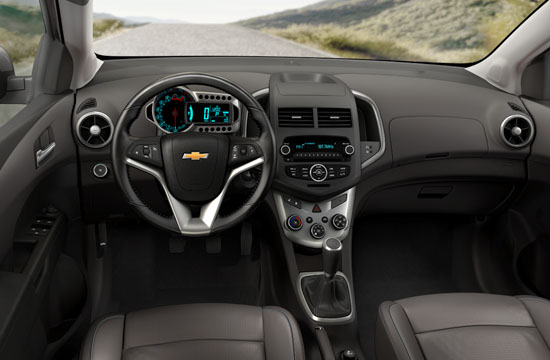 2012 chevy sonic interior