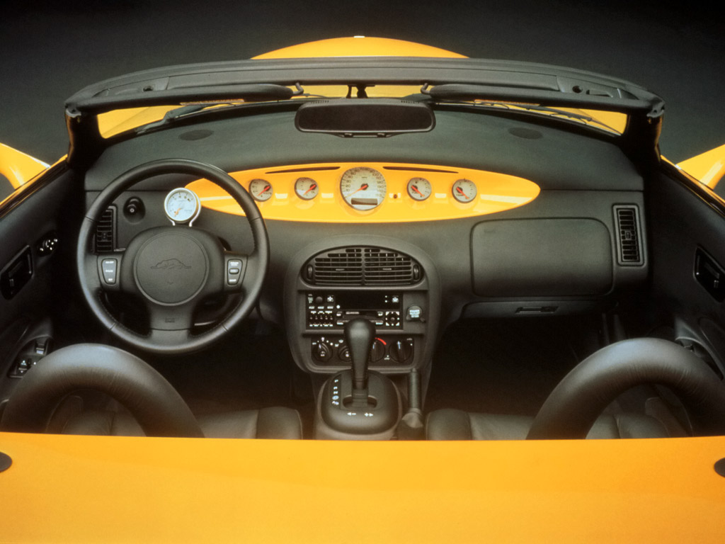 Chrysler prowler interior
