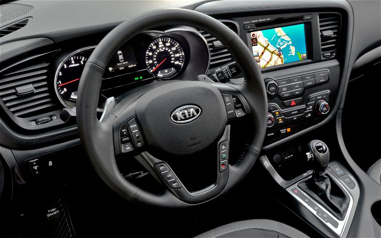 2012 Kia Optima Limited Steering Wheel
