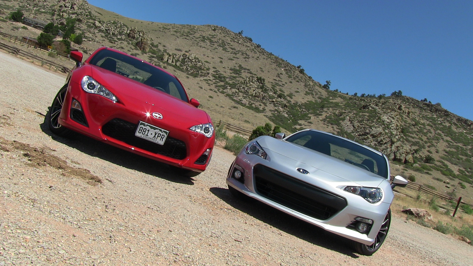 2013 Subaru Brz Vs Scion Fr S 0 60 Mph Mile High Mashup Review The