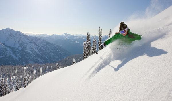 Ski-holidays-deep-powder-at-whistler-resort