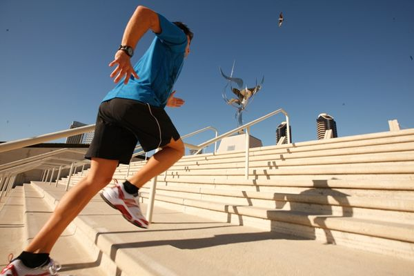 Copy of Running Stairs